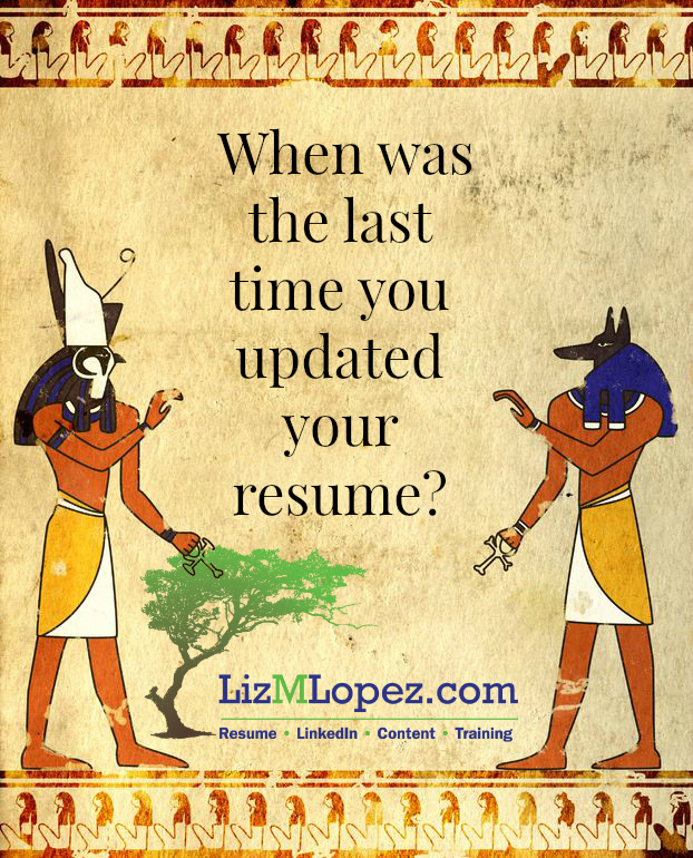 Resume Fail #1: Using An Outdated Resume Format - Liz M. Lopez