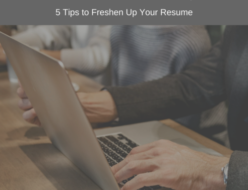 Is Your Resume Aging You?