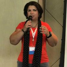 Liz M Lopez speaking