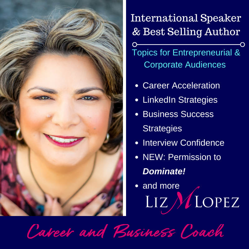 Liz M Lopez Speaker and Author