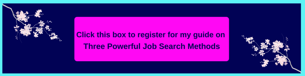 banner with link to access the job search guide